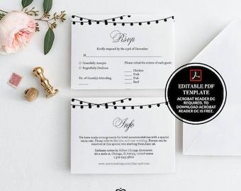 editable info card, info cards, wedding details card, wedding templates, marketing, enclosure card, wedding info, printable enclosure, 18