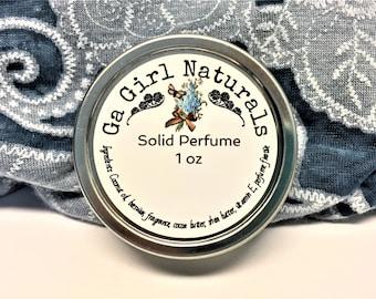 Brown Sugar and Fig Solid Perfume, Natural Perfume, Perfume, Perfume Balm, Handmade
