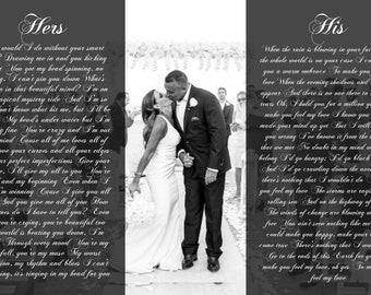 Tenth Anniversary Gift, Personalized 10 Year Anniversary Gift, Custom His And Hers With Picture