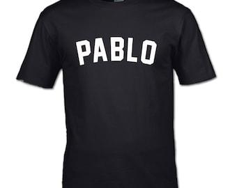 Pablo T-Shirt Kanye teen womans mans clothing