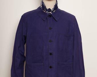 French Work Jacket indigo 1970