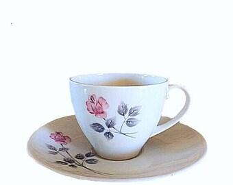 Royal Doulton Pillar Rose, Pillar Rose Teacup, England Teacup Set, Doulton Saucer, Vintage Doulton, Doulton Plate, Doulton Rose Teacup, Rose