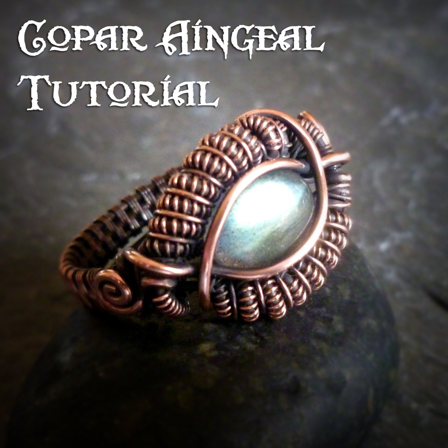 Tutorial dragon eye ring wire wrapped class jewelry zoom baditri Images