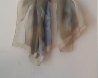 Vintage scarf shawl watercolor pattern