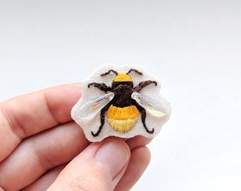 Bee Brooch, Accessory, Insect Pin