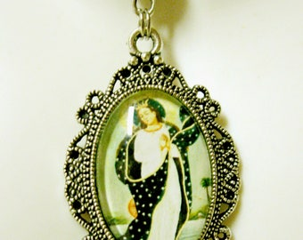 Immaculate Conception pendant with chain - AP04-132