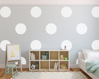 Vinyl Wall Sticker Decal Art - Big Polka Dots
