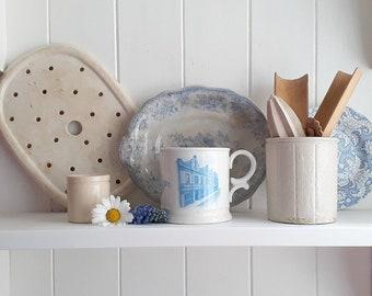 Antique mug. Co-op commemorative mug. Blaydon, North East England
