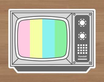 Pastel VHS Television