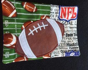 Football Mug Rug, Coaster