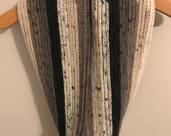 Cookies and Cream Cowl Neck Scarf