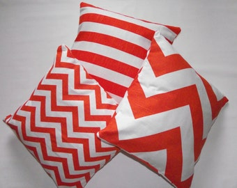 Orange Decorative Pillow Cover