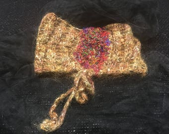 Gold headband