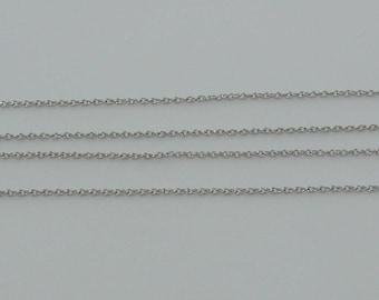 1 m chain link twist 3x2.3mm Nickle matte - ref: CHA 222