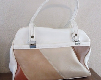 LOVELY Vintage 1960's PVC Handbag - Completely Authentic!!