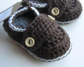 Chaussons pour bébés, mocassins en coton bio, chaussons de bébé / / vous choisissez la taille et la couleur