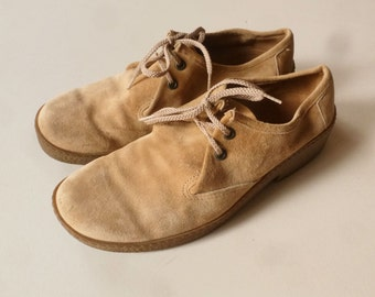 Hush Puppies Mens Shoes -  Light Brown Suede Loafers