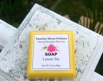 Lemon Tea Soap