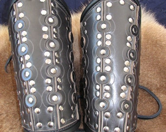 Bracers: Standard Issue Leather Armored