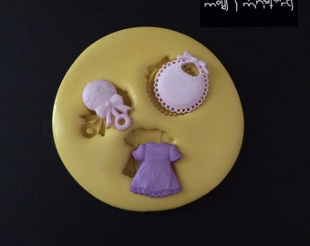 Baby Girl Silicone Mold