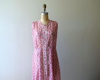 1930s polka dot dress . vintage 20s 30s sundress