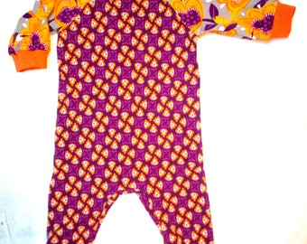 Pajamas baby organic cotton T 3 months