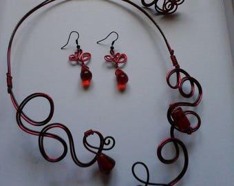 Flamenco earrings available set