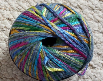 Berroco Zodiac Specialty Yarn, Jewel colors, Cord Type Yarn in Cotton and Nylon Blend