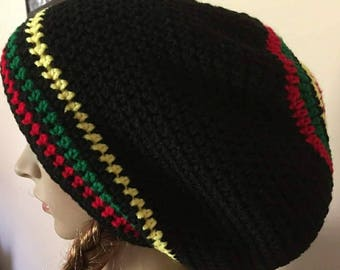 Crocheted Rasta Tam