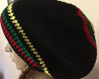 Crocheted Rasta Tam