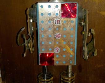 Plan 9 Robots By Outsider Artist Kent Greenbaum Robot Folk Art R28 GRIP