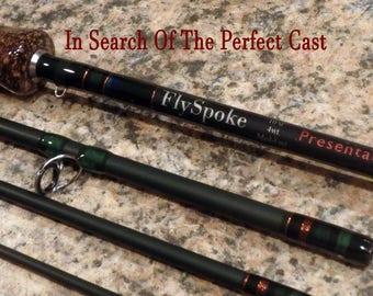 "FlySpoke Presentation Series 10'0"" 4 Weight Fly Fishing Rod"
