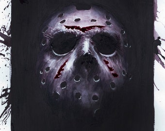 Friday the 13th Plakmounted Poster