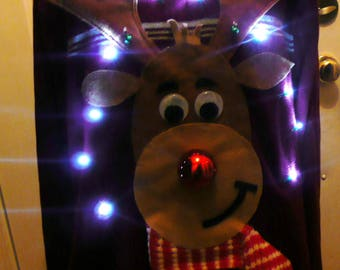 Custom made men's LiGhtS up!!!  tacky 3D Ugly Christmas sweater ANY SIZE, ugly sweater, funny ugly sweater