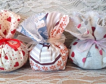 Three Lavender sachets