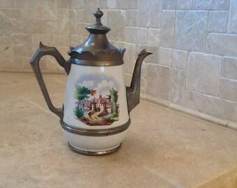 1880 's aManning Bowman Agateware Coffee Pot***SALE***