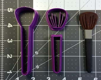 Make Up Brush 100 Cookie Cutter Set