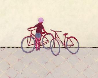 Bike Ride - Limited Edition Fine Art Giclee Print