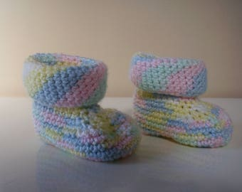 Baby Booties, Crochet Baby Booties, Boy Booties, Girl Booties, Crochet Baby Boots, Crochet Baby Shoes, Baby Boy, Baby Girl