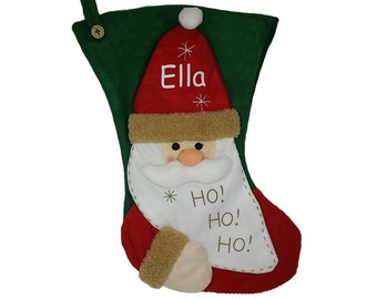 Personalised 3D Christmas Stocking