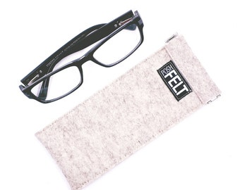 Wool Felt Eyeglass Case