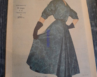 fashion magazine 7 decembre 1952