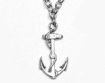"""Spoon Necklace: """"Anchor"""" by Silver Spoon Jewelry"""