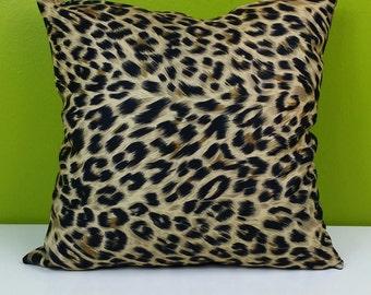Leopard Animal Print Pocket Pillow