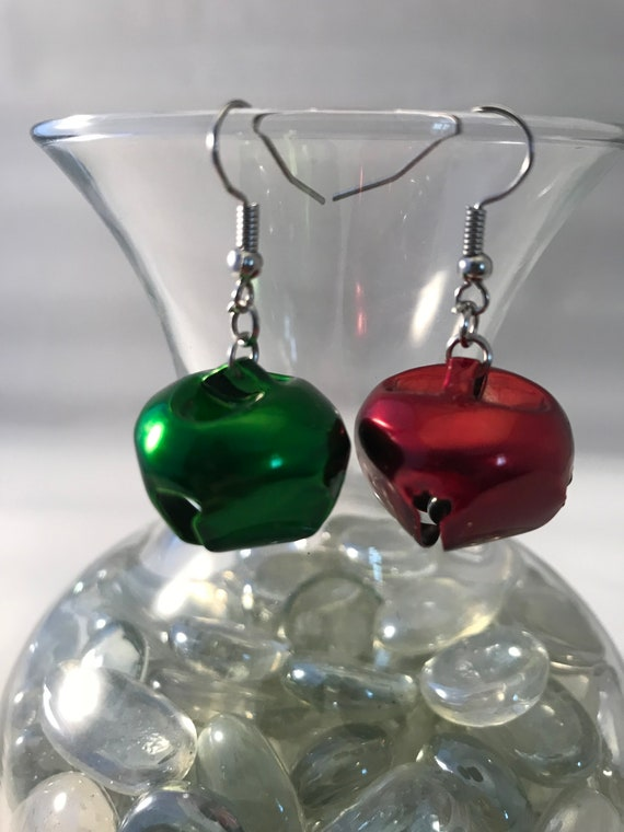 Christmas Earrings | Christmas Bell earrings | Holiday Earrings | Xmas Earrings | Handmade Earrings | Gift for mom, coworker, sister