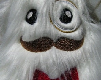 Master of Disguise or Gentleman Yeti Plush Stuffed Animal