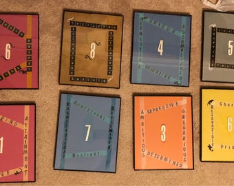 Numerology pieces 1-9