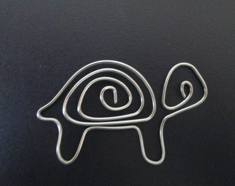 Wire Turtle Bookmark