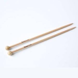 Handmade wooden Children's knitting needles from beech, length 21 cm