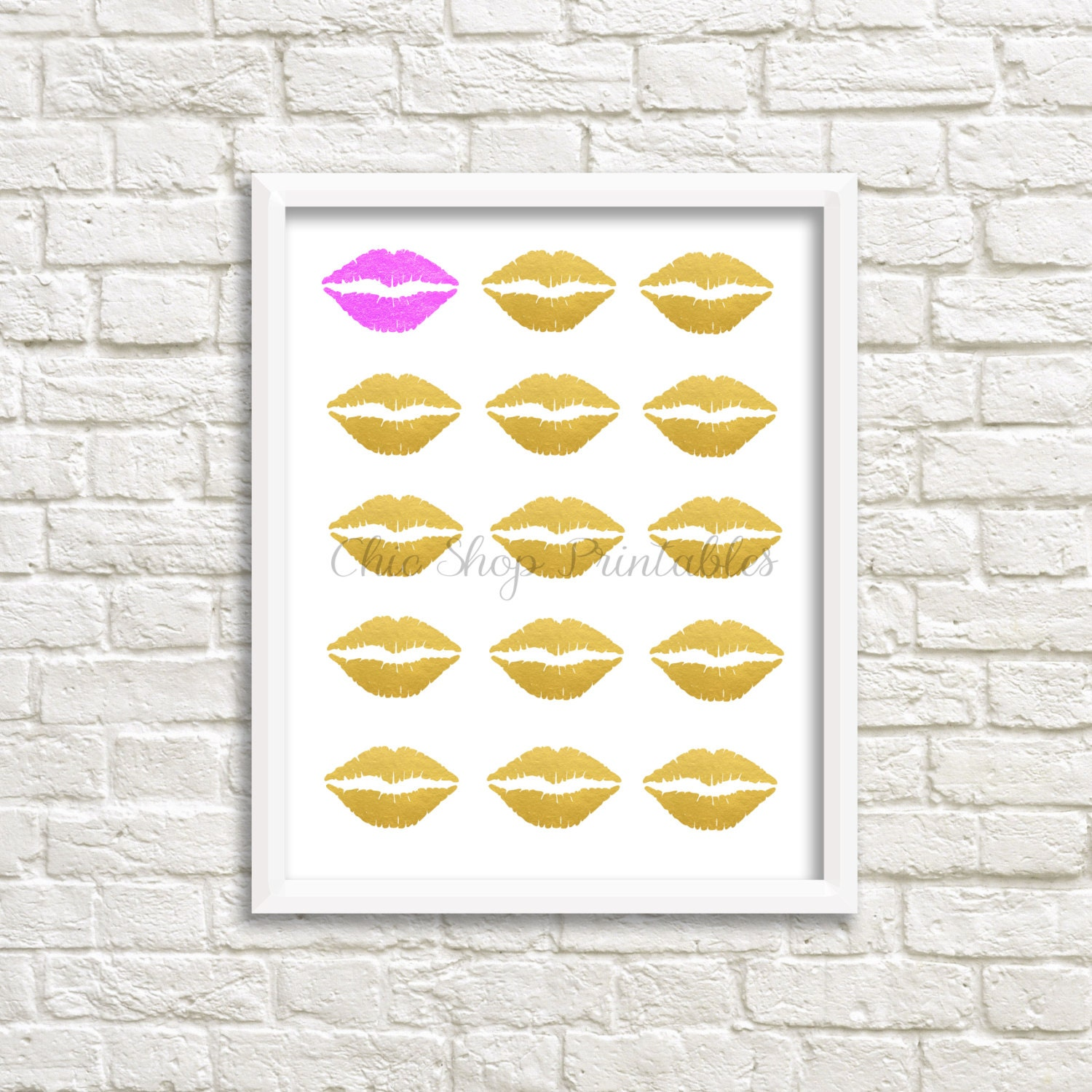 Dorable Lips Wall Decor Images - Wall Art Collections ...